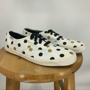 Keds for Taylor Swift black/gold polkadots sneaker